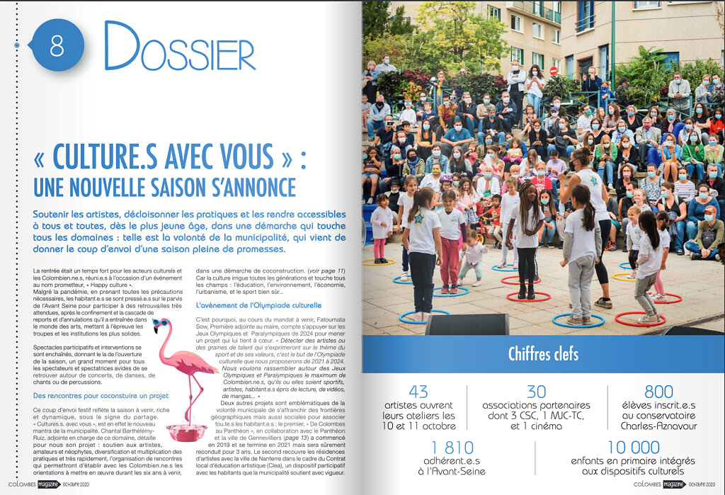 COLOMBES LE MAG